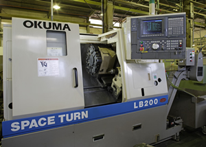(10) High-speed precision CNC lathe