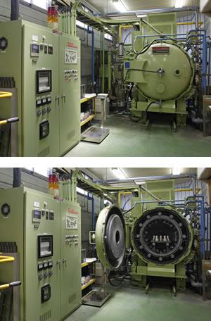 (9) Vacuum thermal treatment furnace