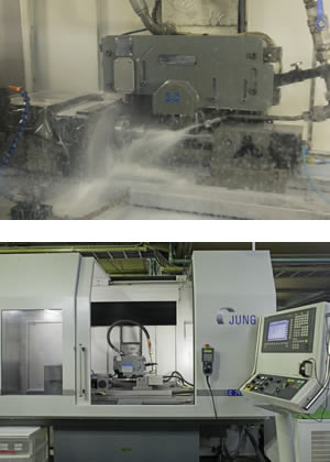 CNC超精密プロファイル研磨機