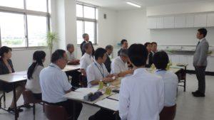 静岡地方最低賃金審議委員会による事業場実地視察